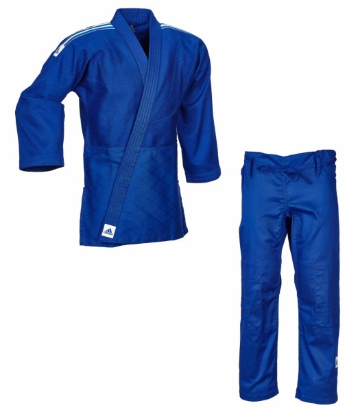 "ADIDAS Judo-Anzug J500 ""Training"" blau"